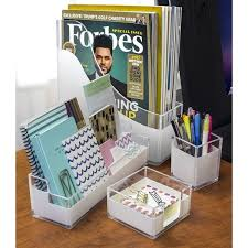 Acrylic Desk Organizer Sorbus Acrylic Desk Organizer Free Shipping On Orders 45