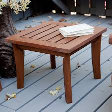 Outdoor Side Table Ideas by Small Patio Side Table Wood Simple Small Patio Side Table