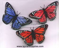 butterflies for crafts and decoration