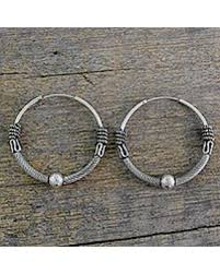 hoops earrings india find the best deals on sterling silver hoop earrings ancient