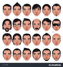 names of boys haircuts types of mens haircuts names men hair vector stock photos images