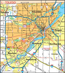 Youngstown Ohio Map by Cities11