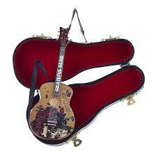 gd guitar ornament liquid blue