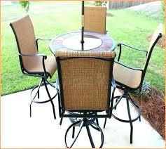 Small Patio Furniture Clearance Small Bistro Patio Set With Umbrella Home Design