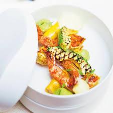 foodies recette cuisine gambas et avocats grillés recipe cuisine yum yum and foodies