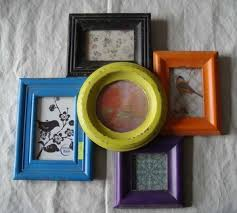 vintage custom multi aperture wooden wall picture photo frame