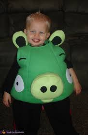 Toddler Pig Costume Halloween Homemade Angry Birds Costumes Kids Photo 4 6