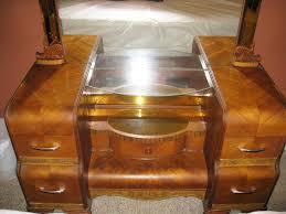 1930s art deco bedroom set bed dresser vanity instappraisal