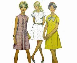 pattern a line shift dress vintage 60s dress patterns for women 1960s a line shift dress
