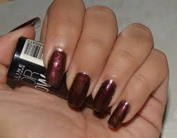maybelline color show nail polish wine u0026 dine review and notd