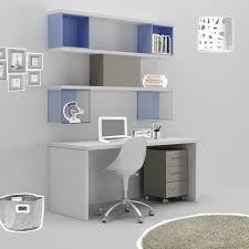 le de bureau design pas cher bureau etagere pas cher bureau luca bois blanchi et