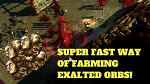 Poe Maps Fast Way Of Farming Exalted Orbs In Path Of Exile 3 0 U0026 Beyond