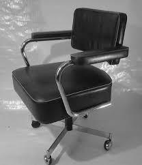 fauteuil de bureau cuir vintage chaises fauteuils fauteuil de bureau vintage cuir et