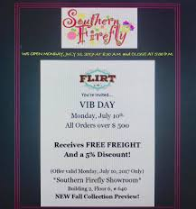 Showroom Invitation Card Southern Firefly Home Facebook