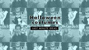 halloween costume ideas you can make from your closet