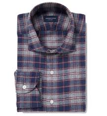 Gingham Vs Plaid Vs Tartan Whistler Navy Grey And Crimson Plaid Flannel Custom Made Shirt By