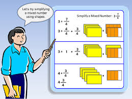 mixed numbers and improper fractions