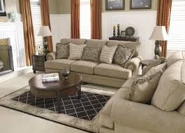 Living Room Design By Size Transitional Sofa With Rolled Arms And Bun Feet By Signature