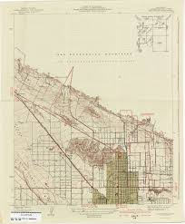 san jose library map california topographic maps perry castañeda map collection ut