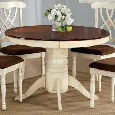 Oval Kitchen Table With Bench Dining Table Rustic Farmhouse Dining Table With Bench Round