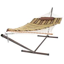 Free Standing Hammock Walmart by Best Choice Products Hanging Chaise Lounger Chair Arc Stand Air