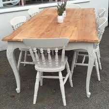 French Style Patio Furniture by Large French Style Wood Top Dining Table Home Sweet Homehome