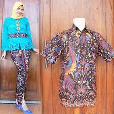 desain baju batik untuk acara resmi batik couple pitaloka cocok untuk menghadiri acara pernikahan