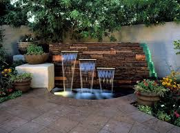 15 unique garden water features feature wall design water