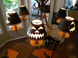 the decorating duchess cheap and easy halloween decor ideas inside ballard design inspired jack olantern lamp shades clockwork in case you missed my love for halloween