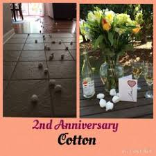 2nd anniversary gift ideas for husband anniversary year 2 cotton pinteres