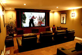 Home Cinema Decorating Ideas Agreeable The Living Room Theater Decor On Home Decor Arrangement