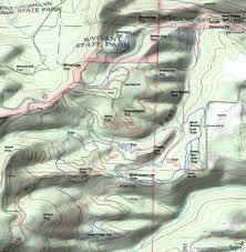 Hood River Oregon Map by Hood River Post Canyon Seven Streams Mountain Biking And Hiking