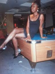Human Pool Table by At Sallys Hideaway On Top Of The Pool Table Photographed By Rotten