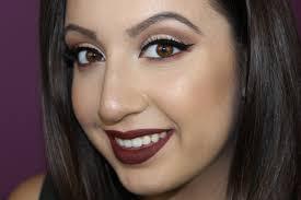 fall winter glam makeup tutorial