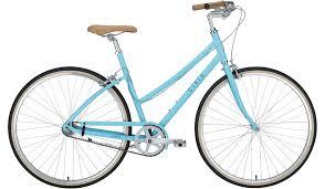 light blue gray lowry step thru civia cycles