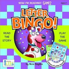 9781584766674 nir games letter bingo now i u0027m reading