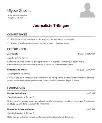 curriculum vitae exles journaliste francaise kidnapee exemple de cv journaliste