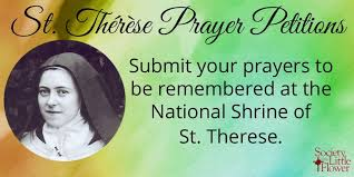Prayer To St Therese The Little Flower - st therese soclittleflower twitter