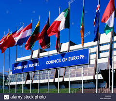 Flags Of European Countries Flags Of European Countries In Front Of The Council Of Europe