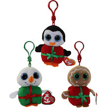 ty jingle holiday ornament baby beanies bbtoystore com toys