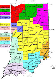 Map Of Dayton Ohio Tv Market Maps