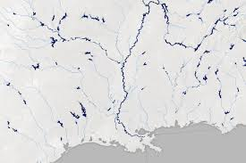 Map Of Mississippi River A Satellite View Of River Width Image Of The Day