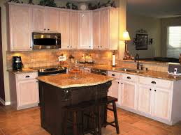 Kitchen Backsplash With Granite Countertops Kitchen Islands Simple Venetian Gold Granite Kitchen Backsplash L