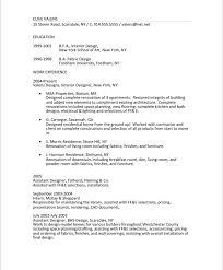 Summary Example Resume by Download Interior Design Engineer Sample Resume
