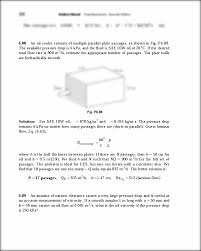 6 88 an oil cooler consists of multiple parallel plate passages as