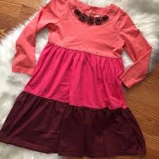 pink dress andersson other andersson color block pink dress