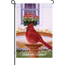 Cardinal Flag Spring Summer Garden Flags Unique Flying Objects The Coolest