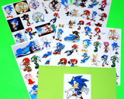 sonic the hedgehog party supplies sonic party favors etsy