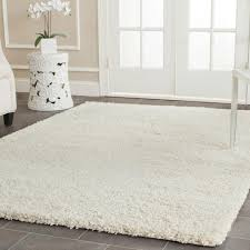 7 x 7 area rugs safavieh california shag ivory 5 ft 3 in x 7 ft 6 in area rug