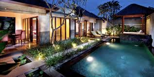 small garden lighting ideas for incredible swimming pool with